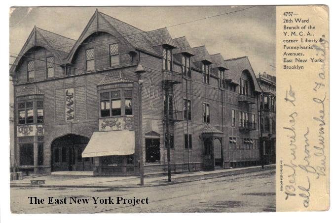 26th Ward Branch YMCA,corner Liberty and Pennsylvania Dated:1907 Maker: Souvenir Post Card Co. Status: Own(RG) The original YMCA building sat on the ...